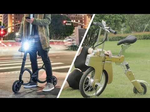 Top 5 amazing electric and folding bicycles in the world which you must see.