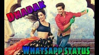 Dhadak  Zinghat Hindi version song   Whatsapp status 2018   Ishan , Janvi 2018