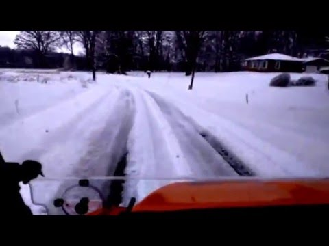 Monroe County KY Snowy Ride