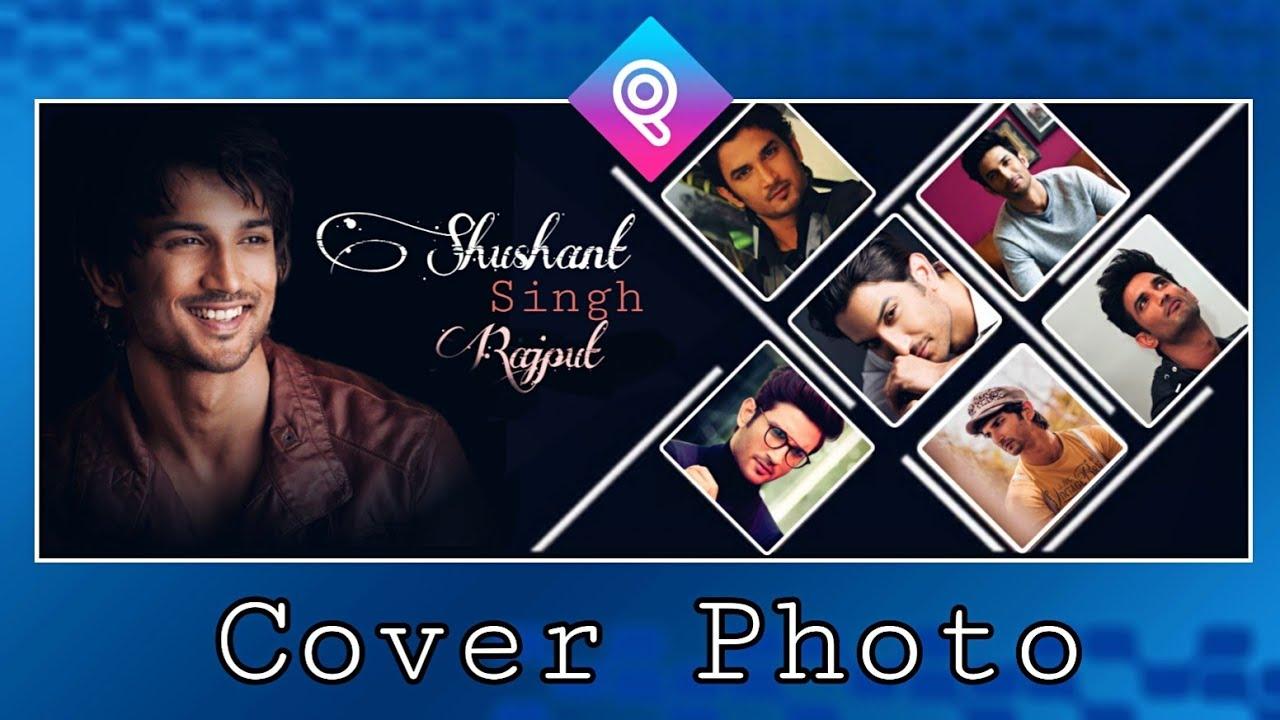 Professional Facebook cover photo design [mobile] picsart    fb cover photo editing picsart