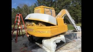 excavator refurbish complete