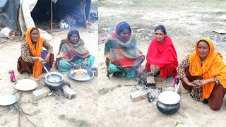Indian Village Woman Cooking Macaroni💜Rural Life of Punjab/India💜Village lifestyle of Punjab/India