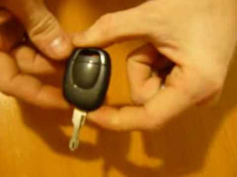 renault symbol батарейка в ключе