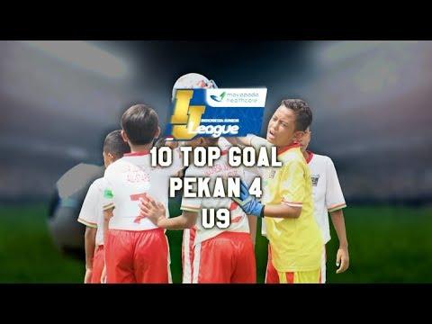 Top 10 Goal Indonesia Junior Mayapada League pekan ke-4 [U9] 4-3-2018