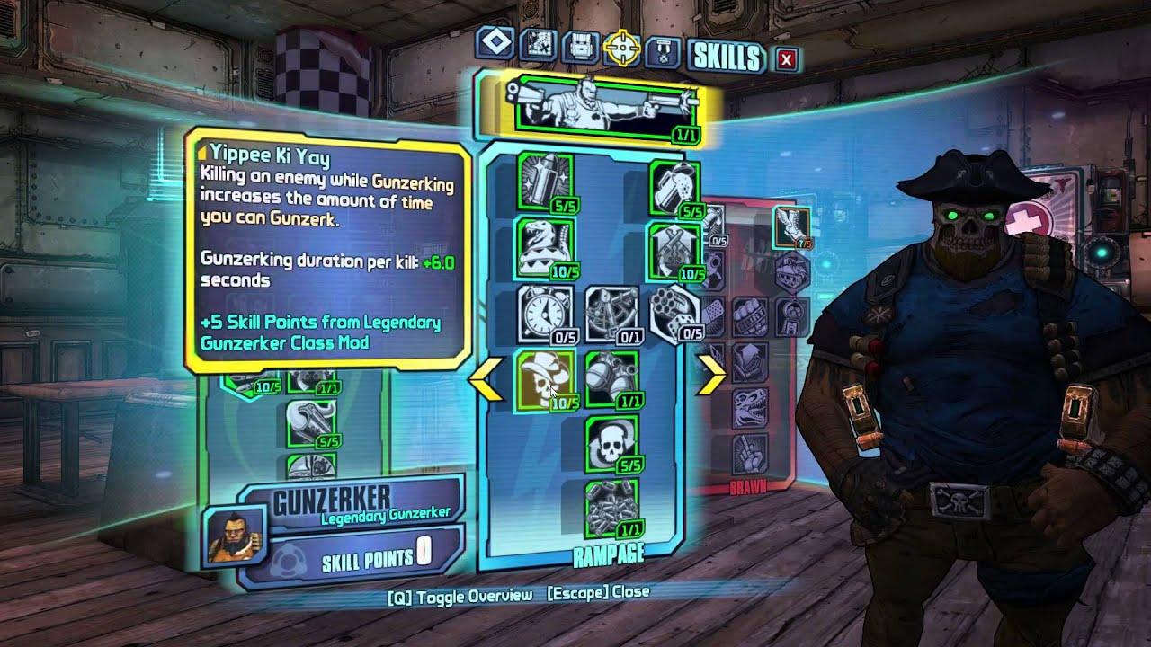 Borderlands  Pistol Build Gaige
