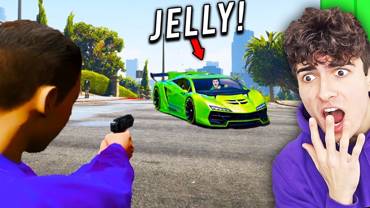 I Found JELLY In GTA 5..