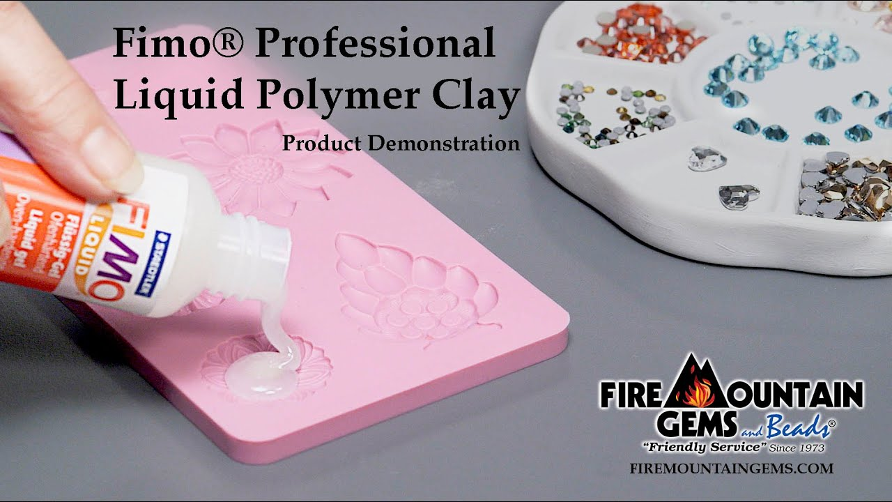 Fimo Professional Liquid Polymer Clay Youtube