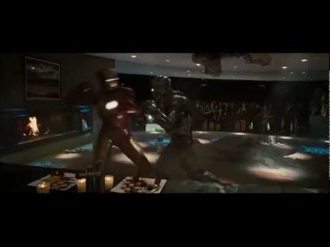 Iron Man Vs. War Machine - español latino (Iron man 2)