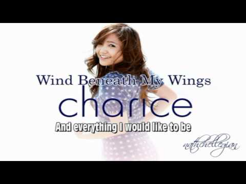 Charice Pempengco  Wind beneath my wings w lyrics