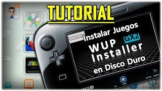 Wii U: Instalar Juegos y Canales en
