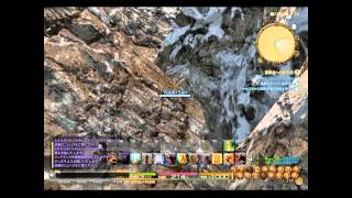 FFXIV:ARR-(クルザス) OUT OF MAP GLITCH (TUTORIAL)