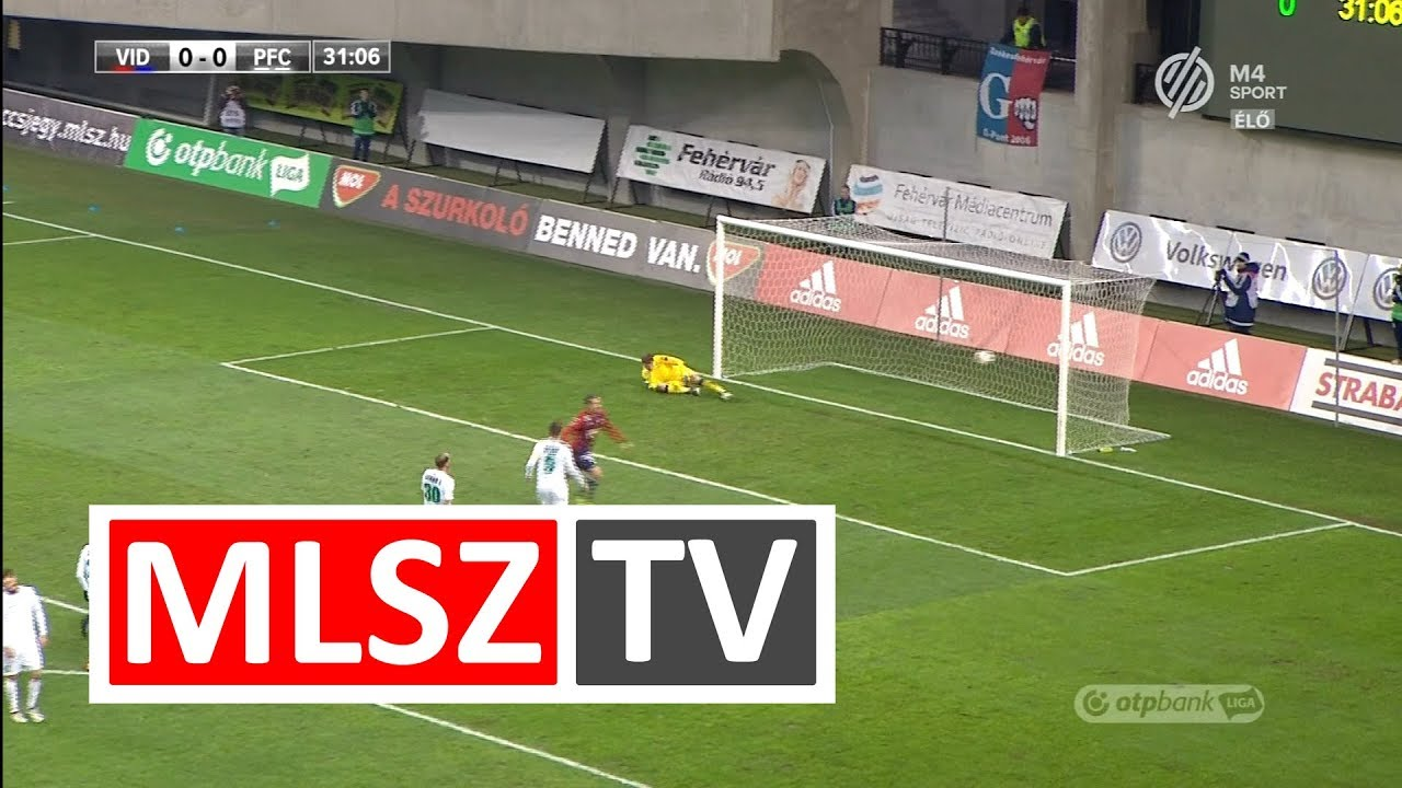 Lazovic Danko gólja a Videoton FC - Paksi FC mérkőzésen