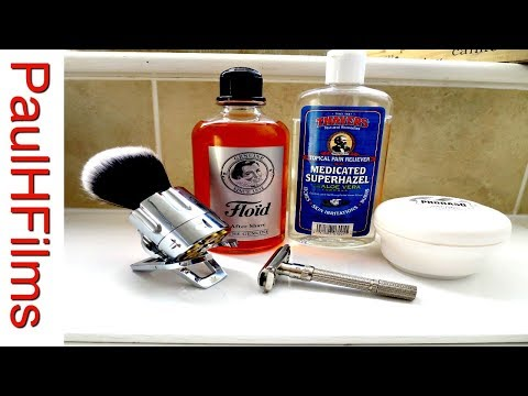Gillette Slim Adjustable  - Proraso White Shaving Soap