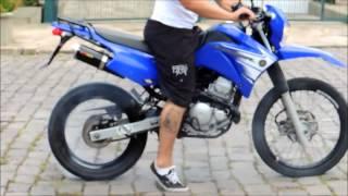 Yamaha XTZ 250 Lander Burnout