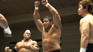 2011.2.12 NAKANISHI&STRONGMAN&KANEMOTO vs BERNARD&ANDERSON&LIGER