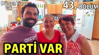 Amerika'daki Ailemizle Kutlama Yapıyoruz   Mangal ve Pasta Yaptık   43. Bölüm