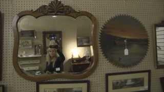 Vintage Retro Decorating With  Antique Mirror?