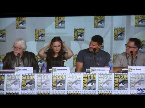 Bones Panel (San Diego Comic Con 2013)