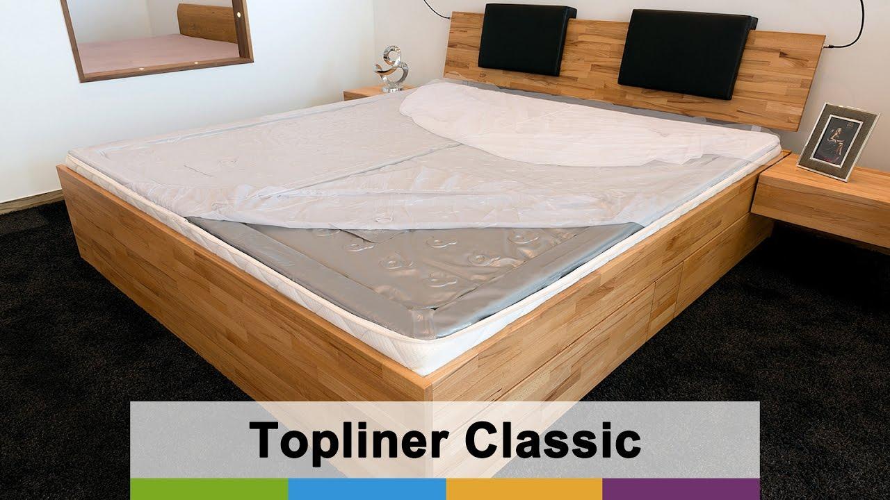 Wasserbett aufbauen anleitung  SuMa Wasserbetten – Classic Topliner – schützt die Wassermatratzen ...