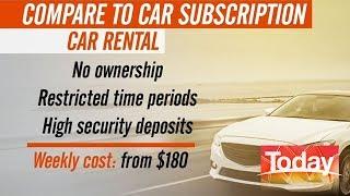 Car Owning vs  Car Sharing | TODAY Show Australia