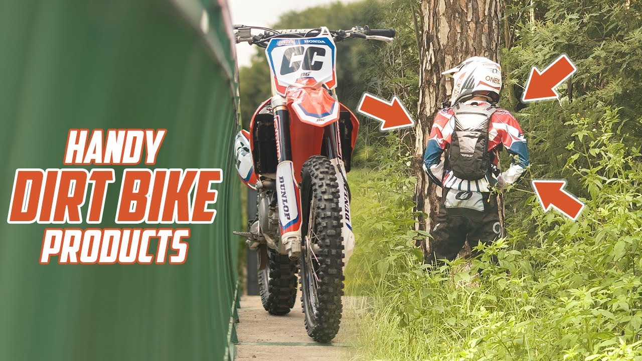 5 Dirt Bike Products That Might Come In Handy
