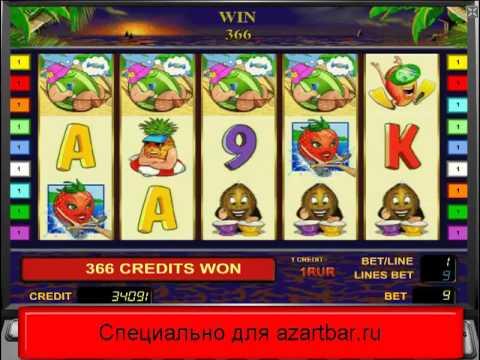 Видео Игровой автомат bananas go bahamas