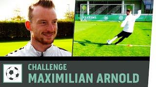 Freistoß-Challenge vs. Maximilian Arnold |VfL Wolfsburg | Fußball-Challenge |Kickbox