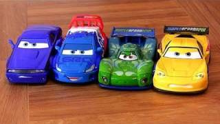 Cars 2 Carla Veloso, Jeff Gorvette, Raoul CaRoule, Rod Torque Redline Disney Pixar Cars2 Review