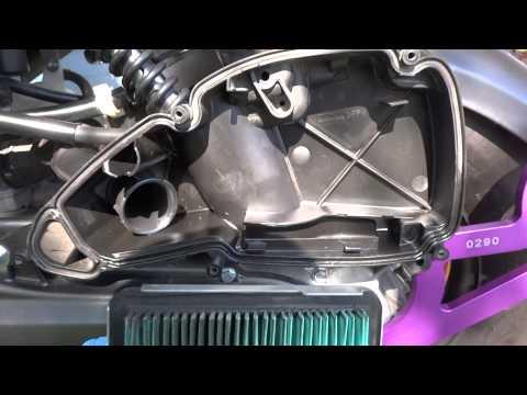 Stock Ruckus Air Filter Change