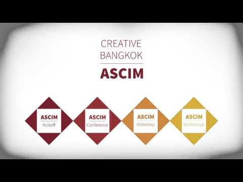 Intro VDO ASCIM 2016 - Creative Bangkok 2016