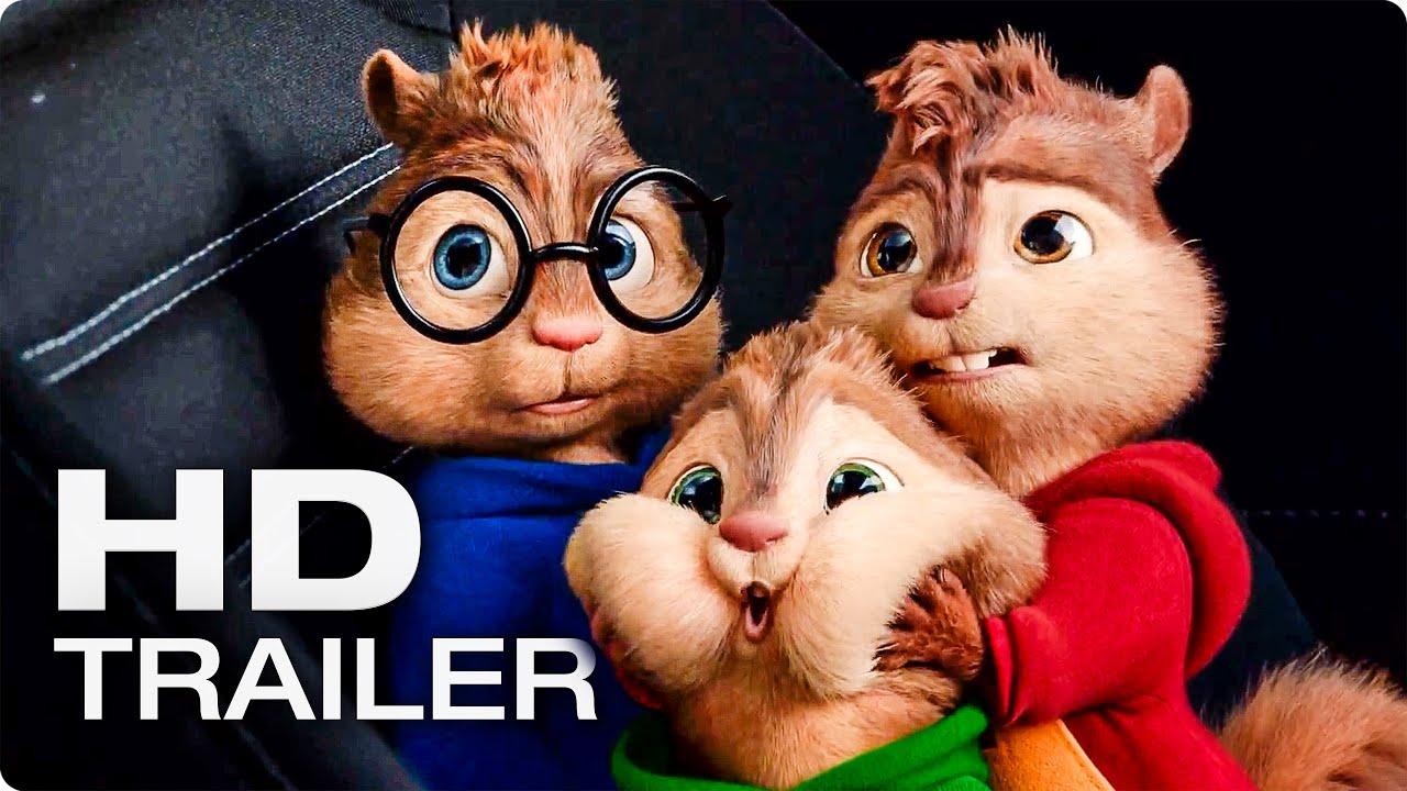 Alvin Und Die Chipmunks 4 Road Chip Trailer 3 German Deutsch 2016