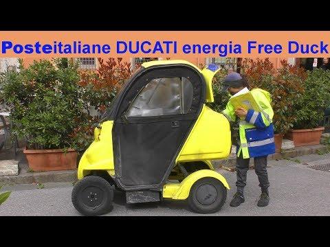 Poste italiane DUCATI energia Free Duck 4 - Micro Post-Auto Italien Italy Italia