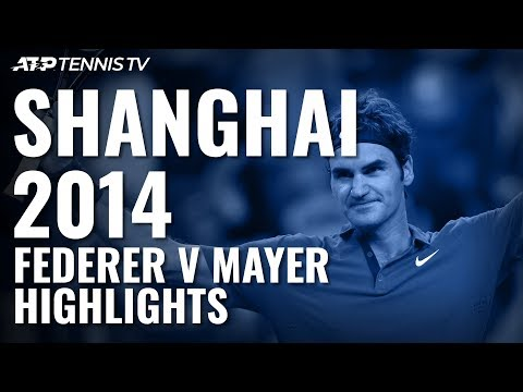 Federer Gets Out Of Jail Vs Mayer!: Shanghai 2014 Extended Highlights