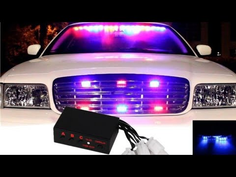 LED POLICE Lights From WISH