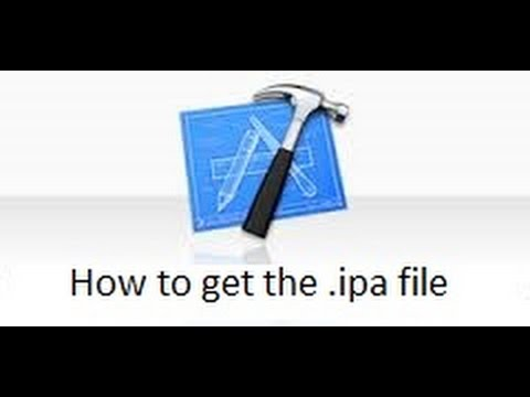 How to get the .ipa file in xcode 6