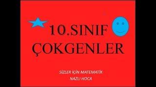 10.SINIF ÇOKGENLER