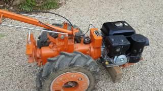 Re-motorisation motoculteur Pasquali 921 avec moteur Kohler CH 395.