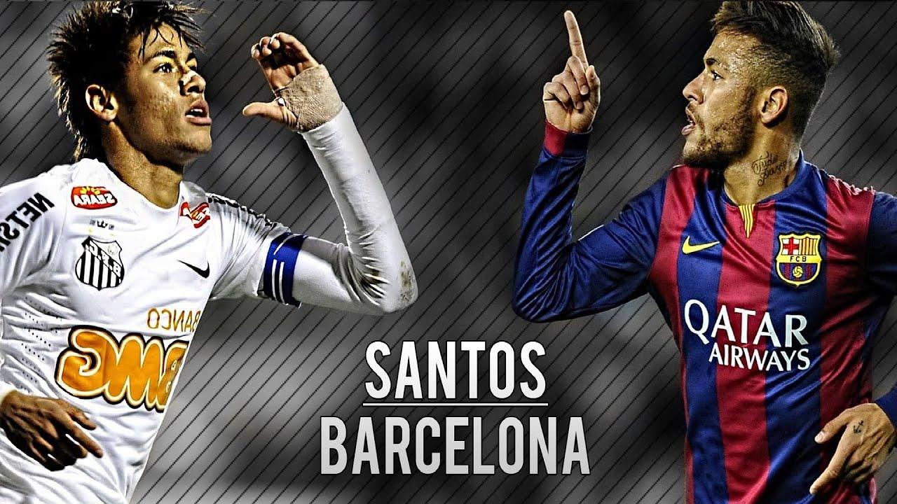Download Neymar Jr   Best Dribbling Skills   Santos & Barcelona