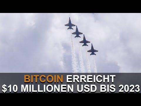 BITCOIN 2023 BEI $10 MILLIONEN DURCH BLOCK HALVENING