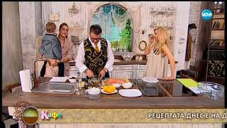 Как Теди Велинова и д-р Ангел Енчев намират време за себе си - На кафе (18.07.2018)