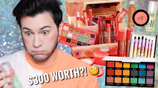 SO I TESTED ALL THE NEW ELF MAKEUP... over $300 worth! HIT OR MISS?