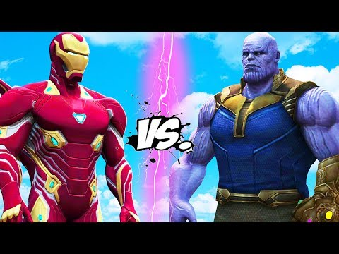 THANOS VS IRON MAN - INFINITY BATTLE thumbnail