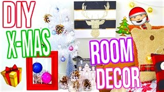 DIY Christmas Room Decor 2016!