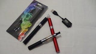 видео Электронная сигарета eGo Т и жидкость для заправки