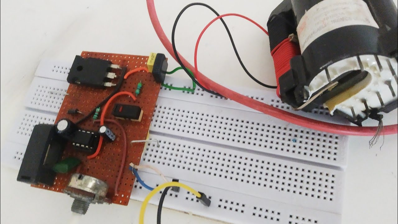 How to make flyback driver circuit || Electronics project