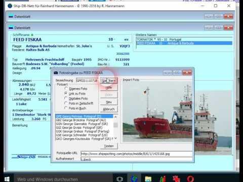 Internetfoto in Ship DB einbinden