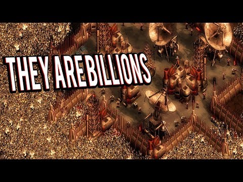 POST APOCALYPTIC CITY BUILDING OR ZOMBIE SURVIVAL GAME? - THEY ARE BILLIONS GAMEPLAY LETS PLAY