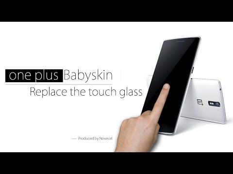 how to replace front glass for one plus one  presented by NOVECEL