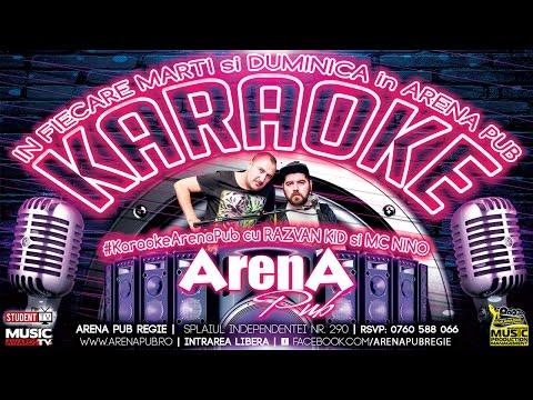 KARAOKE MARTI si DUMINICA cu Razvan Kid & Mc Nino @ Arena Pub (promo) | #MusicAwardsTV