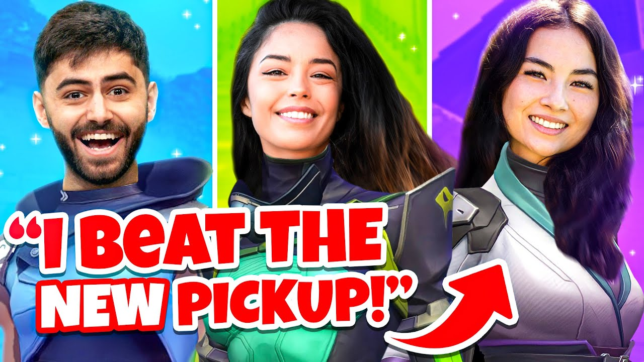 Kyedae Teams-Up w/ Valkyrae in First-Ever 100 Thieves Valorant Match ft Yassuo, Dicey & More!